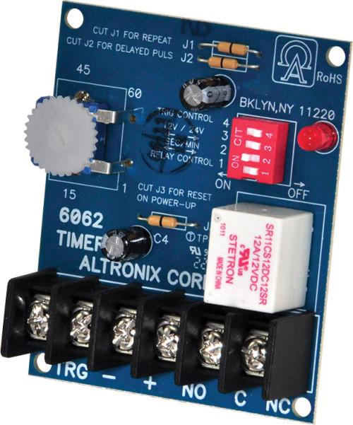 12//24VDC ALTRONIX 6062 Timer,Multifunction